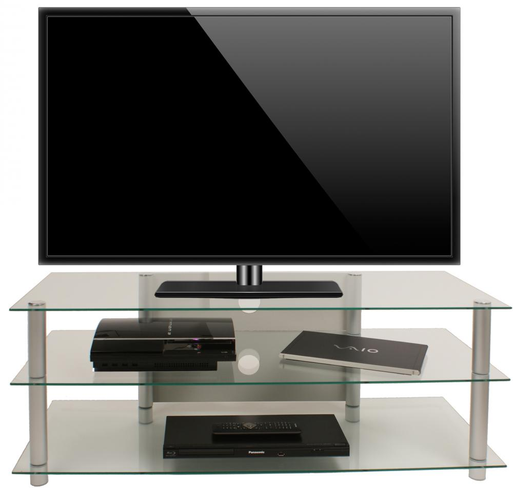 TV meubel design RVS