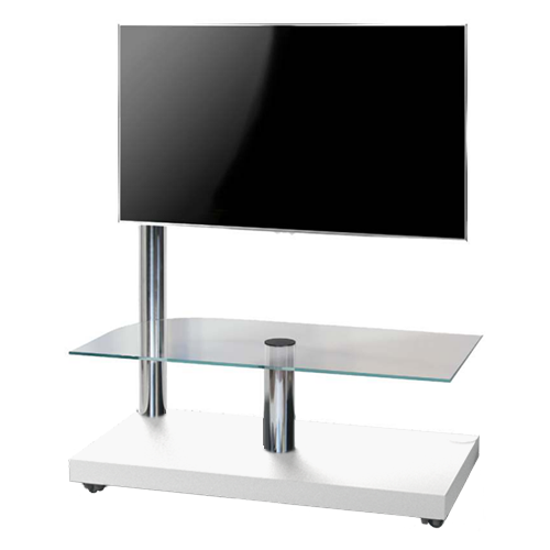 Stralex Flag Tower Deluxe TV Standaard Wit